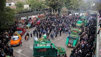 مراسم عزاداری ۲۸صفر در روستای هنزا +عکس