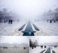 بینالحرمین در مه +عکس