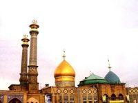 رمضان متفاوت در حرم حضرت عبدالعظیم +تصاویر