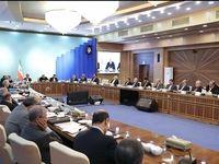 رئیس جمهور در جلسه هیات دولت +عکس