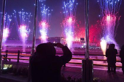 مراسم افتتاحیه المپیک زمستانی ۲۰۱۸ +تصاویر