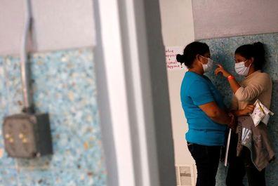 U.S. asylum seekers find shelter at Texas church
