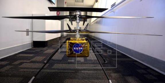 بالگرد ناسا تا سه ماه دیگر به مریخ میرود
