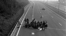 بزرگراههای خالی هلند در اولین یکشنبه بدون خودرو! +تصاویر