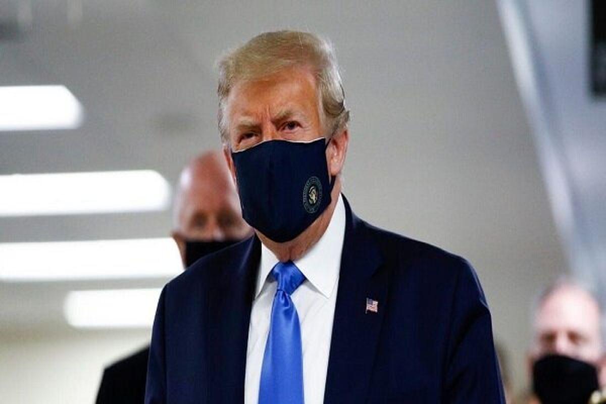 بایدن برای ترامپ آرزوی سلامتی کرد