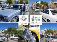 توزیع روزانه ده هزار ماسک رایگان و ضدعفونی در منطقه ۲۱تهران