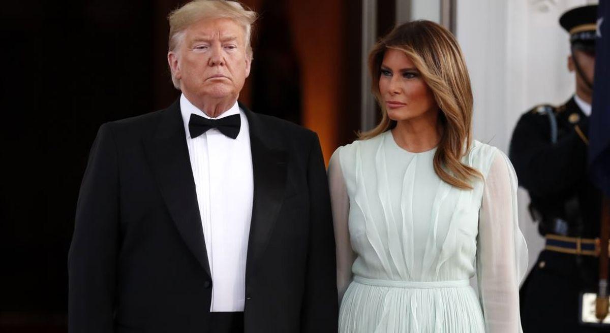 استقبال از لباس 6هزار دلاری ملانیا ترامپ +عکس