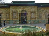 دیوار پهلوی کاخ سعد آباد فرو ریخت