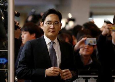 محکوم شدن رییس سامسونگ به ۵سال حبس