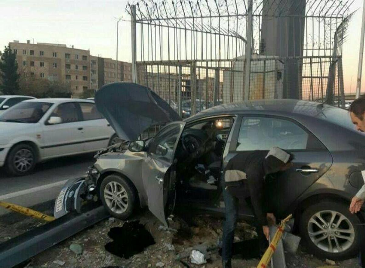 مرگ سرنشینان سراتو در تصادف با پراید +عکس
