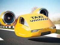 تاکسیهای پرنده به آسمان ایران میآیند