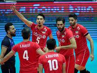 اولین پیروزی تیم ملی والیبال در جام جهانی