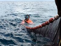 ماهیگیری در بندر بزرگ آفریقا +تصاویر