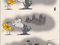 آلودگی هوا ! (کاریکاتور)