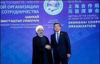 استقبال رییسجمهوری قرقیزستان از روحانی +فیلم