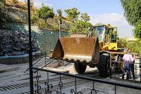 تخریب ویلاهای غیرمجاز در باستی هیلز کرج +عکس