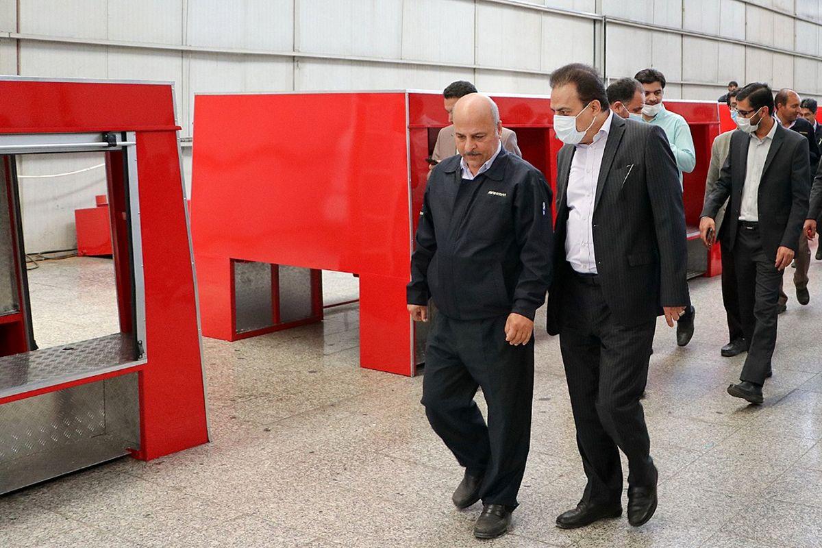 بهمن دیزل برترین واحد صنعتی این استان است