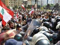 تداوم اعتراضات اقتصادی در لبنان