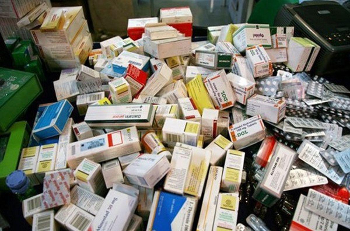 امحای دارو و مواد اولیه دارویی قاچاق و متروکه