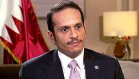 وزیر خارجه قطر: ترور فخری زاده ریختن هیزم در آتش بود