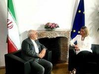 اتحادیه اروپا: دیدار موگرینی با ظریف بسیار سازنده بود