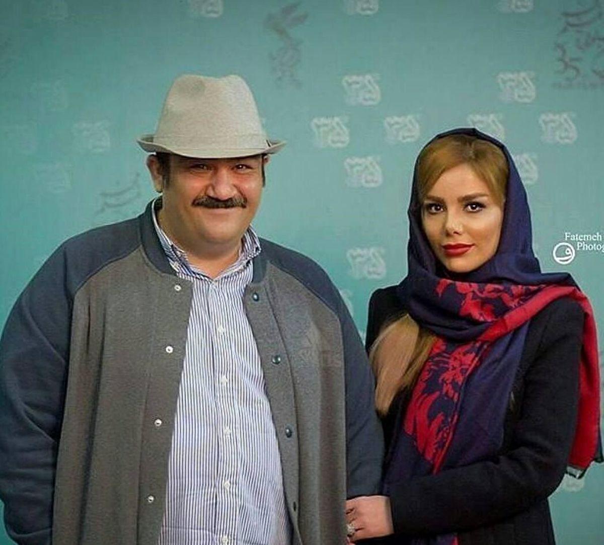 کودکی همسر مهران غفوریان + عکس