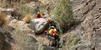 سقوط منجر به مرگ یک مرد از کوه