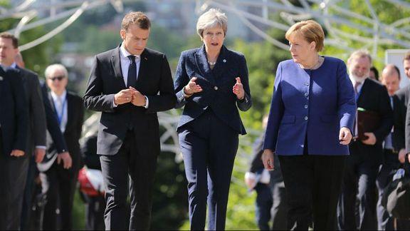 توافق سران اروپا در رویکرد مشترک برای نجات برجام
