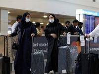 ثبت 15مورد جدید ابتلا به کروناویروس در امارات