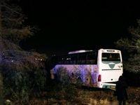 تصادف خونین اتوبوس و کامیون در محور قزوین