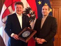 دیدار سفیر ایران در اتریش با شهردار وین