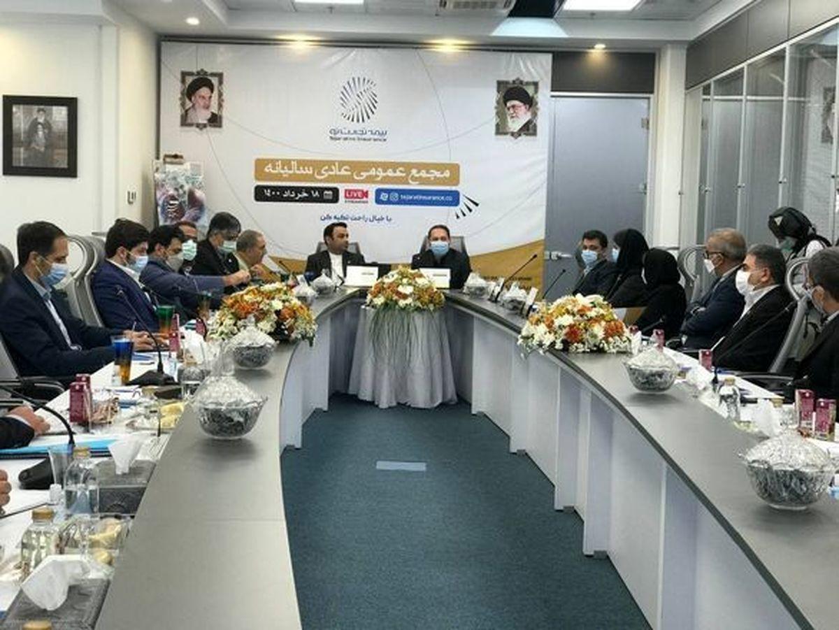 دستاوردهای مهم بیمه تجارت نو در مجمع عمومی سالیانه به نمایش گذاشته شد