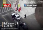 بازداشت مرد مسلح پساز تیراندازی به افسران و عابران +فیلم