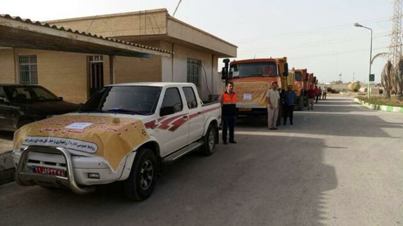 توزیع چهار تن اقلام بهداشتی و دارویی در خوزستان