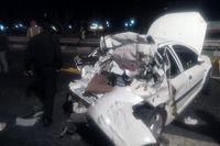 تصادف جادهای 4کشته برجای گذاشت