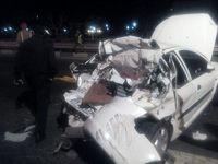 فرار راننده رانا پس از تصادف با لیفان +عکس