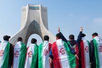 بازتاب راهپیمایی ۲۲بهمن در روزنامه دیلی صباح