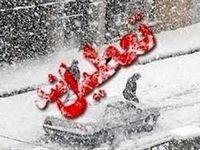 برف مدارس بانه را به تعطیلی کشاند