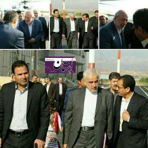 وزیر نیرو برای افتتاح چند طرح به خراسان شمالی رفت