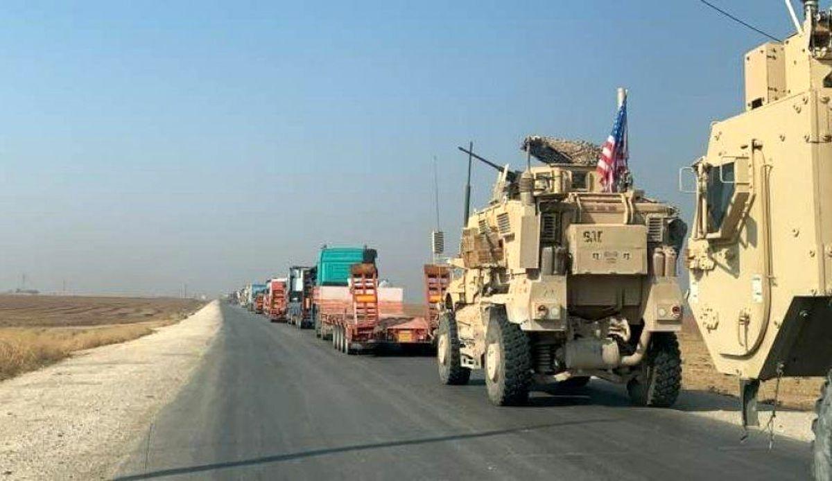 دو کاروان پشتیبانی آمریکا در عراق مورد حمله قرار گرفت