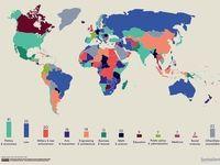 جایگاه رشته اقتصاد در بین رهبران دنیا +اینفوگرافیک