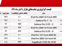 گرانترین تبلتهای موجود در بازار +جدول