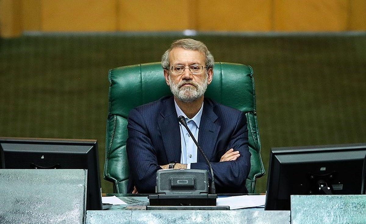 لاریجانی: همه ملت ایران را تحریم کنید تا بفهمید حادثهای رخ نمیدهد