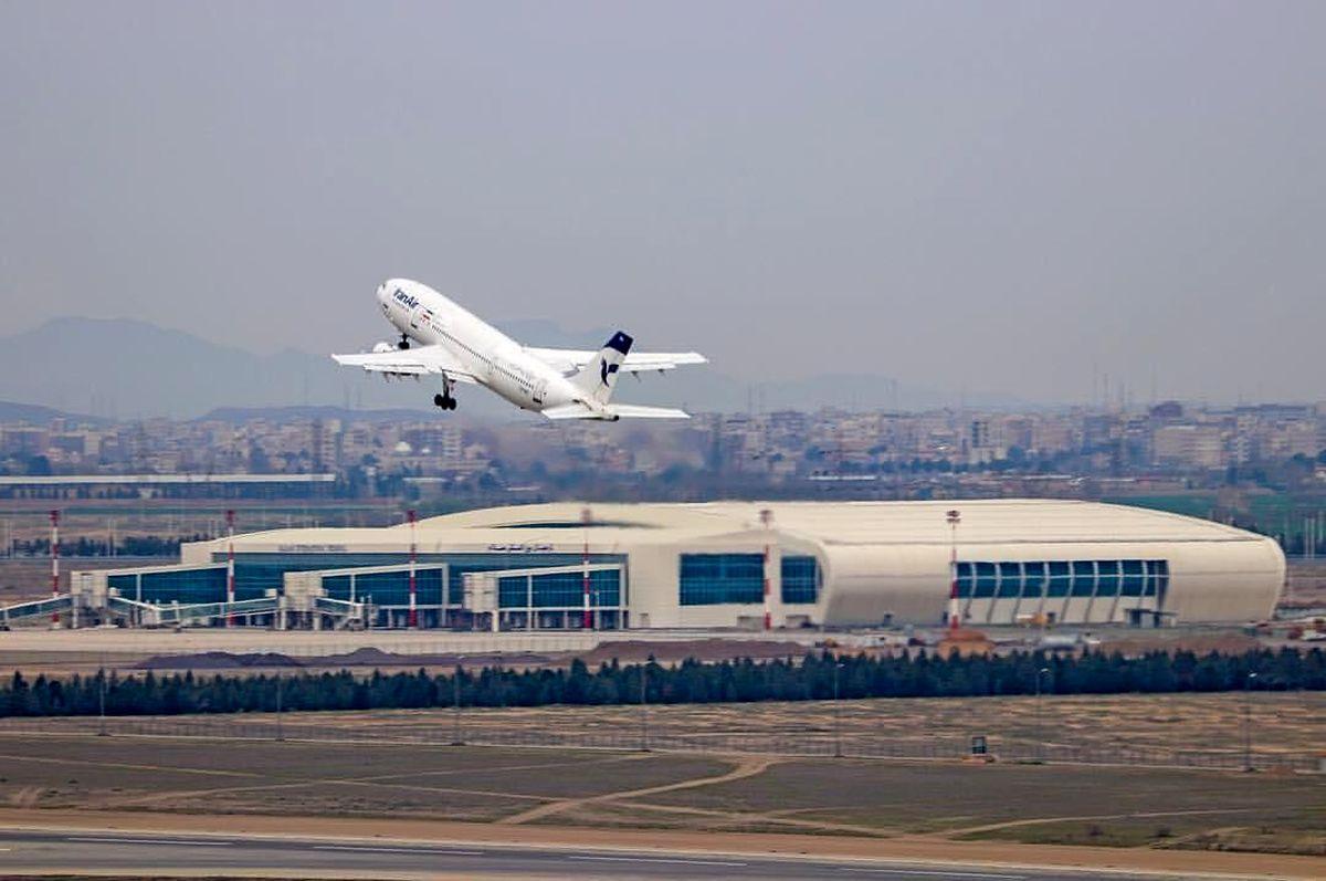 کاهش ۹۶درصدی جابجایی مسافران ایرانی در پروازهای بینالمللی
