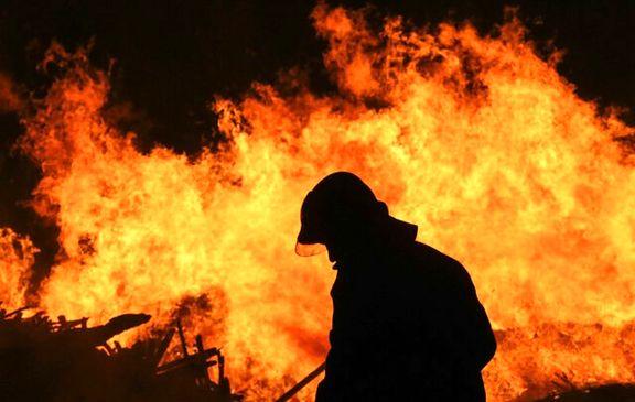 آتشسوزی زیرزمین پاساژ مولانا