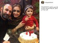 سالگرد ازدواج بازیگر «پایتخت» در کنار همسر و دخترش+عکس