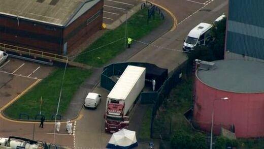 شناسایی هویت اجساد کامیون مرگ در انگلیس