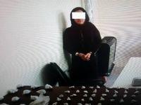 زن قاچاقچی با 1کیلو هروئین بازداشت شد +عکس