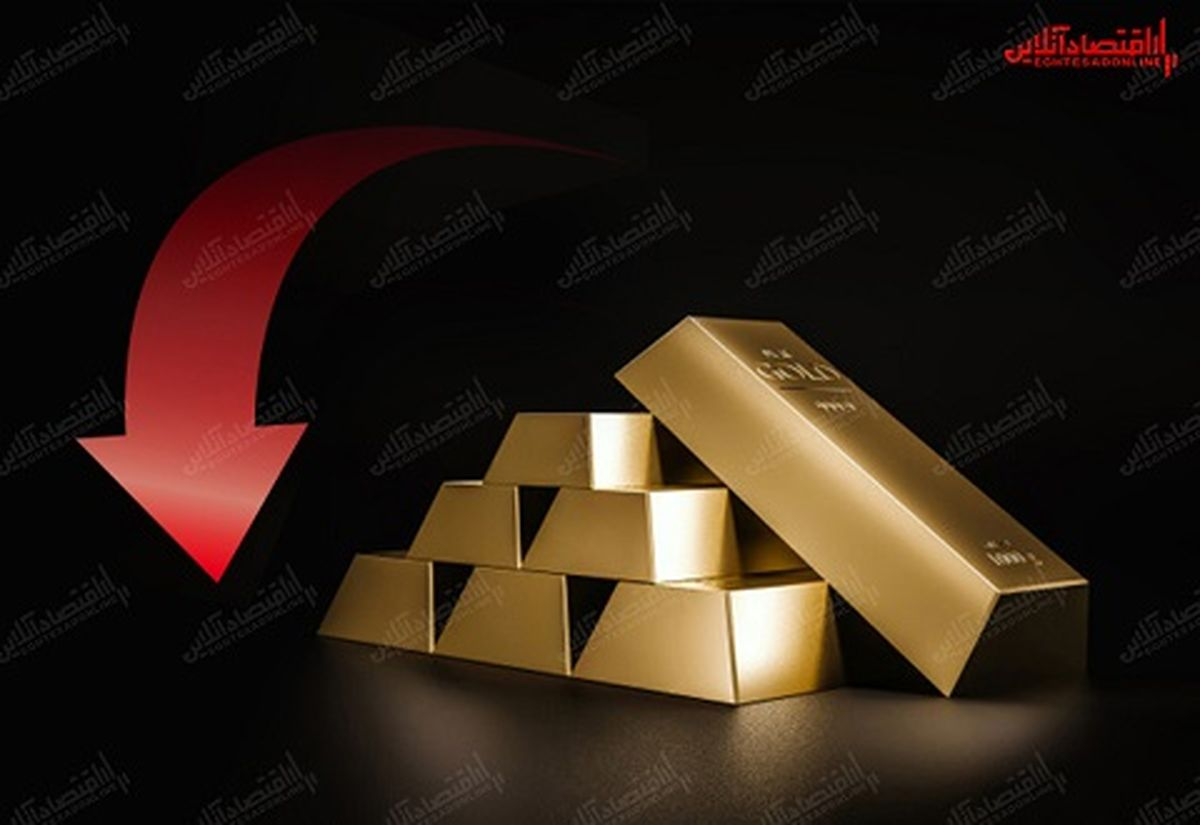 سقوط طلا به پایینترین سطح ۸ماهه/ بازار طلا قربانی ریسک پذیری سرمایهگذاران