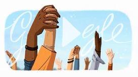 تبریک جهانی روز زنان قدرتمند به زبان گوگل +فیلم